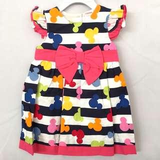 Girl Cute Mickey Dress SB 021