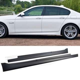 2pcs BMW F10 M Sport / M5 Side Skirt - PP Taiwan