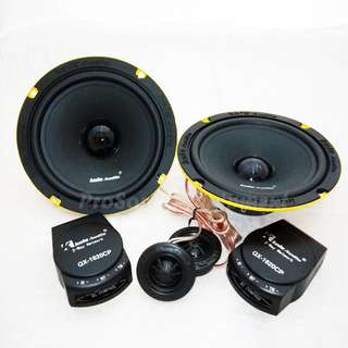KOLE AUDIO QX-1620CP HIGH PERFORMANCE COMPONENT SET SPEAKER TWEETER CROSSOVER CAR AUDIO SYSTEM (60WATTS)