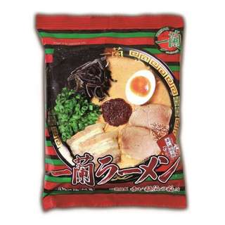 🚚 散賣 日本 一蘭泡麵 *2 包 期限 2018/7/24 福岡限定