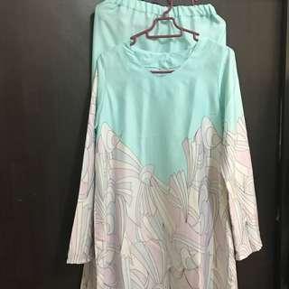 Preloved  Baju Kurung tailor made