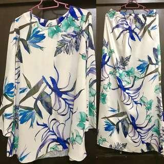 Preloved Printed Kurung tailor made