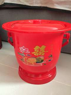 Spittoon and baby bath tub for betrothal/ dowry gifts