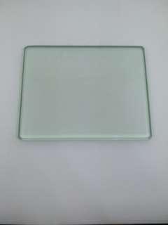 玻璃片 DIY 手工 皮革配件 鋼化 玻璃板 皮革專用  皮革削削薄 打磨垫墊板 床面處理劑cmc 厚8mm