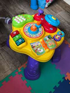 Vtech Activity Table - Learn to stand