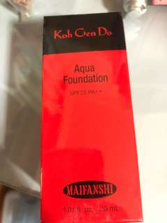 減價👀Koh gen do aqua foubdation