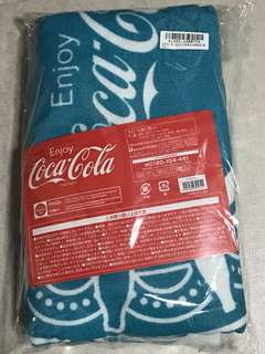 Limited Edition Coca-Cola Round Towel Blue