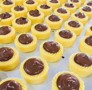 Premium Nutella Tart 50pcs