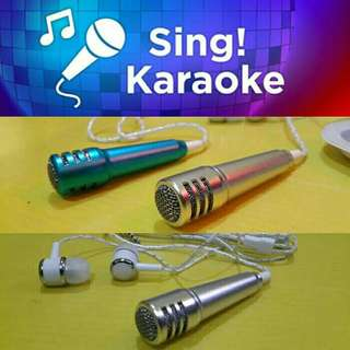 💘2 in 1 Handsfree Mini Microphone Karaoke Hp💕💕