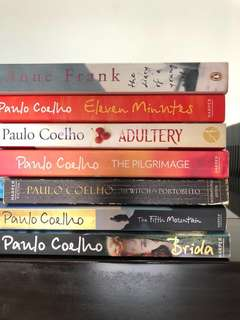 Moving out sale! Various Books - Paulo Coelho