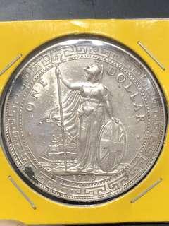 British Trade Dollars 1909B