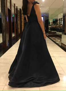 Midnight Blue Gown (used once)