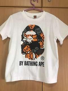 Bape Kids Tee ( bathing ape 全新T恤)