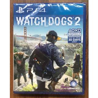 Ps4: Watch Dogs 2 [R3]