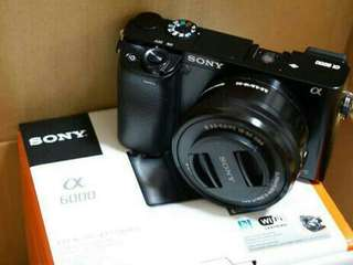 Kamera Sony Alpha 6000 Bisa Kredit Proses 3 Menit !! Bunga Ringan