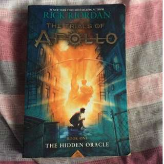 Trials of Apollo Book One: The Hidden Oracle by Rick Riordan [PRELOVED]