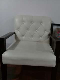 Offwhite Accent Chair
