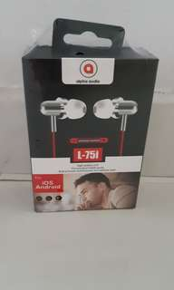 Alpha audio earpiece