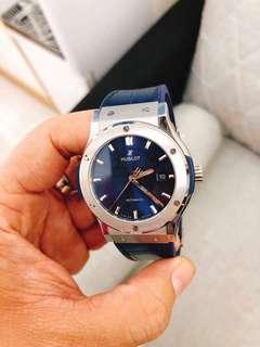 WTB : Hublot Classic Titanium Blue/Back USED HIGH PRICE GUARANTEE. Selfcollect $CASH$