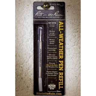 PEN REFILL – Black Ink All Weather RITE IN THE RAIN
