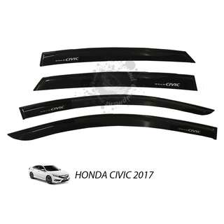 HONDA CIVIC 2017 CAR DOOR VISOR INJECTION MODULA No Ratings