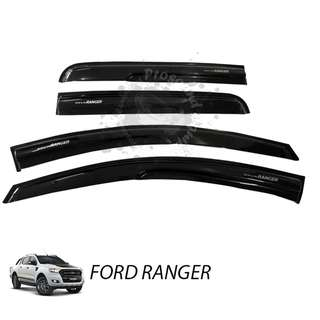 FORD RANGER DOOR VISOR WITH UNIQUE DESIGN (MEDIUM)