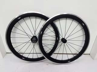 "ControlTech Aluminium 20"" 451 74/130 or 100/130mm Wheel Set For Folding Bikes"