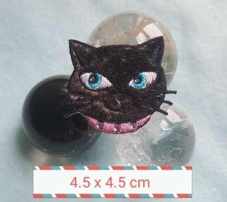 Iron On Patch/ Applique   ↪ Black Cat  💱 $3.90 Each Piece