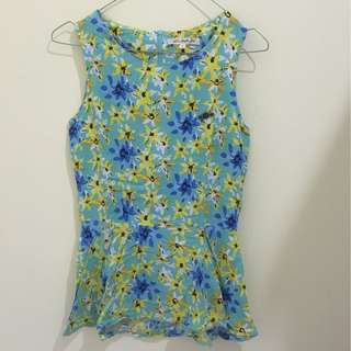 Summer flower top
