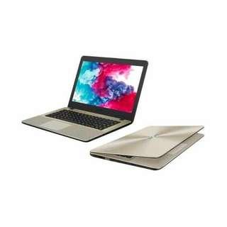 Kredit Laptop A442UF i7 bisa di cicil, gratis 1x cicilan cuma 1.3jt
