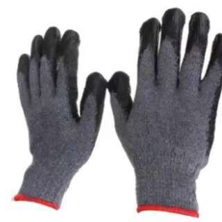 Rubber Coated Gloves Set of  3