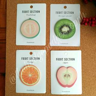 Fruits Sticky Notes (3 for 100) Part 2