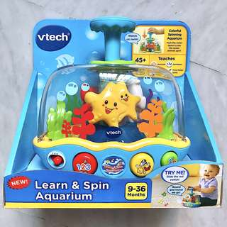 (In-Stock) VTech Learn & Spin Aquarium (Brand New)