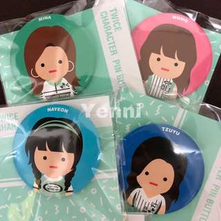 Twice Twiceland Fantasy Park Pin Button