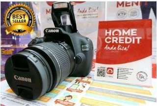 Kredit kamera 1200D DP 10% bisa Bunga 0% cukup KTP sma SIM/KK
