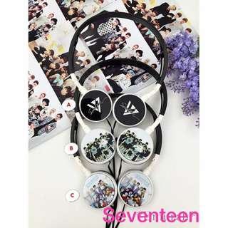 SVT/WannaOne/VIXX/Song Joongki Headphone