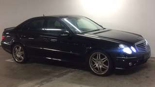 W211 e200 Amg bodykit and brabus rim