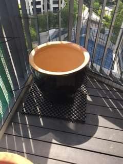 Outdoor plant pot $10 each. 4-6 in stock
