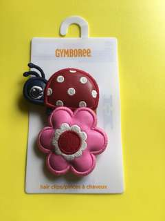 Gymboree hair clips