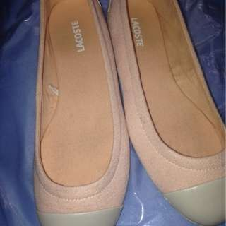 Lacoste flat shoes