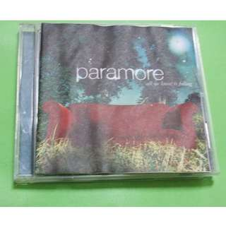 - CD PARAMORE : ALL WE KNOW IS FALLING ALBUM (2005) POP PUNK EMO