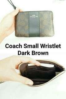 Coach small wristlet