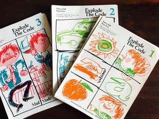 Explode The Code Preschool English Phonics Workbook