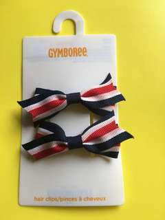 Gymboree hair clips