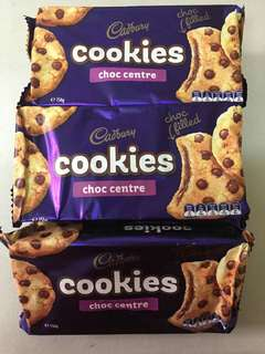 Cadbury Cookies Choc Centre
