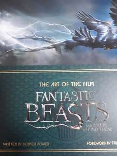 Fantastic beasts. The art of the flim