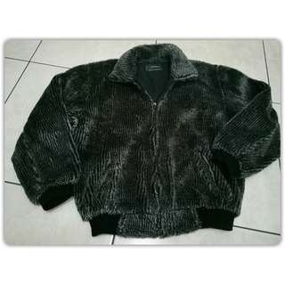 Jaket bulu  Size M fit to L