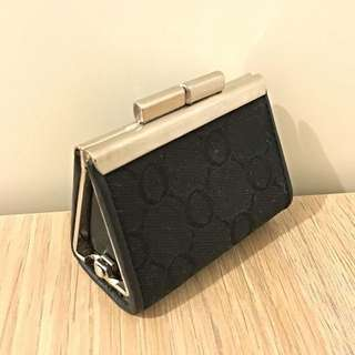 Oroton Coin Purse in Black