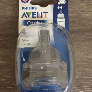 Philips Avent Classic Teats (2 Holes)