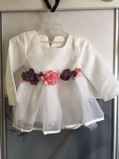 Baby Dress (Off white)